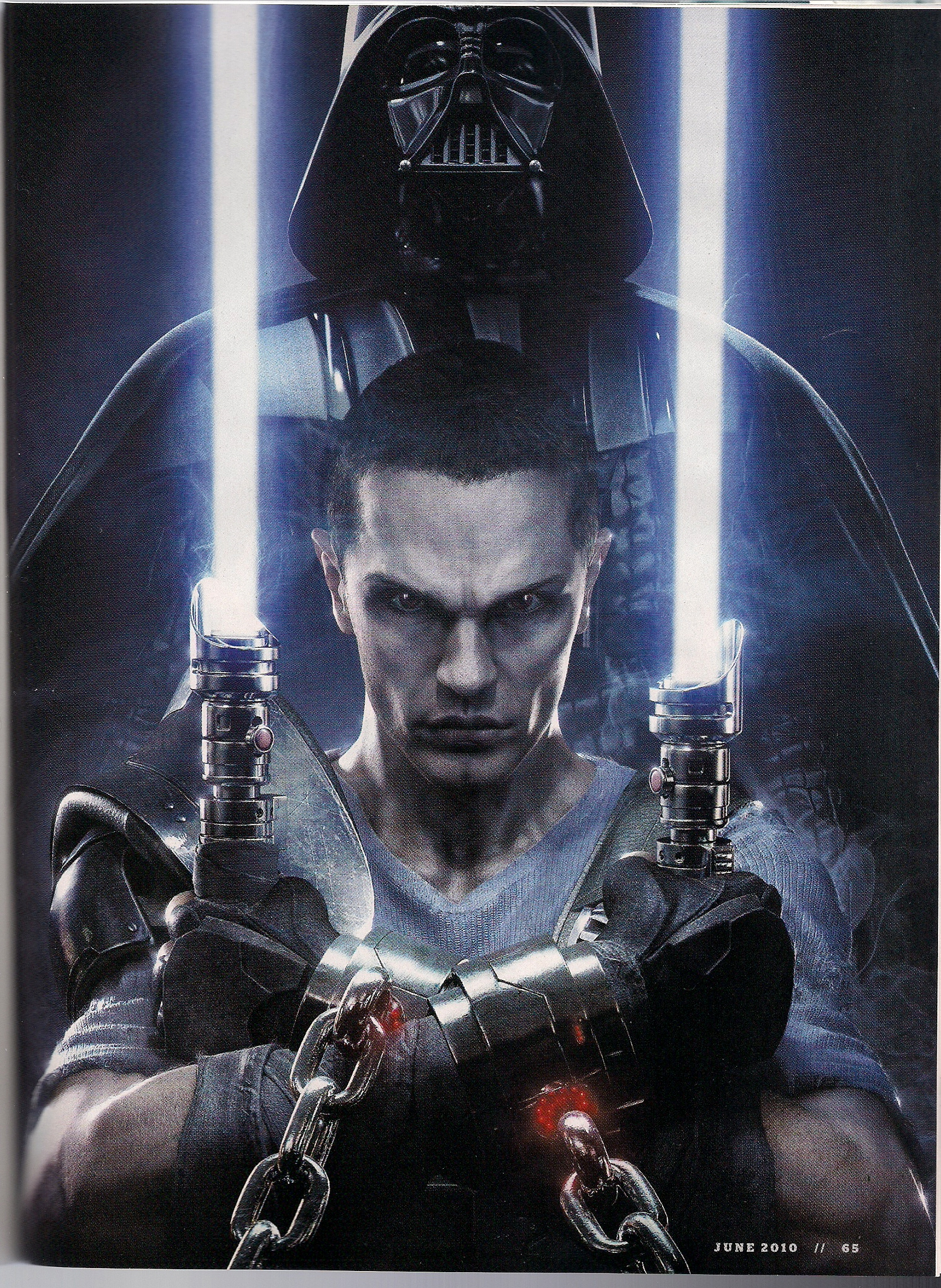 Star Wars The Force Unleashed II. GamePro Magazine Scans ...