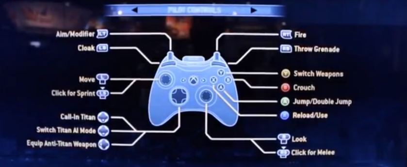 Multiple Controller Layouts have been ConfirmedXbox 360 Titanfall Controller