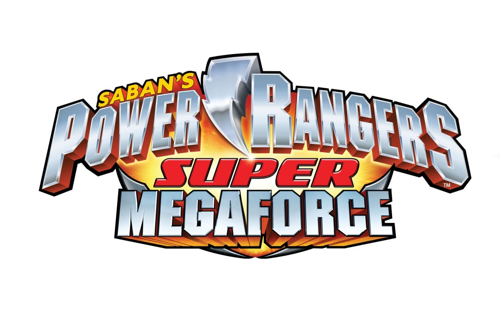 SABAN BRANDS POWER RANGERS SUPER MEGAFORCE LOGO